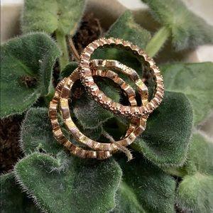 Chloe + Isabel stackable rings